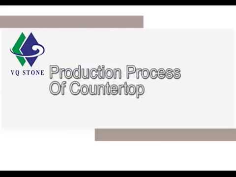 Production Process of countertop