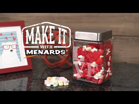 Etched Glass Jars - Make It With Menards