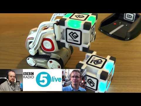 BBC 5Live - Game On - Anki Cozmo & Overdrive Interview