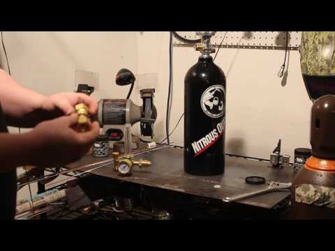 Nitrous Bottle For CO2 Weld bottle
