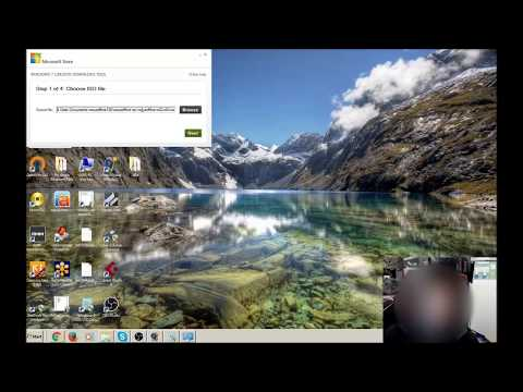 How to put / Burn a Non Bootable ISO file onto a USB Stick / Drive with Windows 7  Download Tool