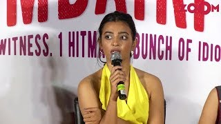 Radhika Apte talks about experience of working in comedy film 'Bombairiya'