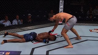 Top Finishes from UFC Copenhagen Fighters