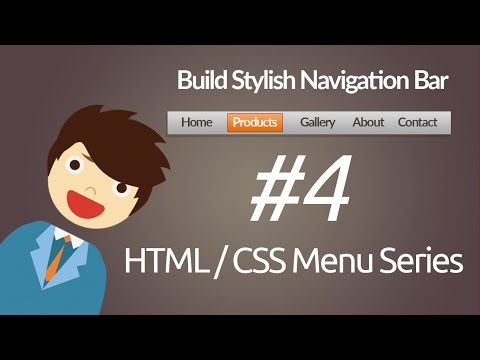 HTML & CSS : Build Stylish Navigation Bar
