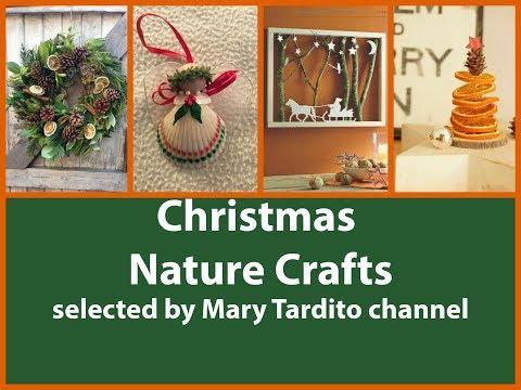 Christmas Nature Crafts Ideas - DIY Natural Christmas Decorations - Christmas Crafts to Sell