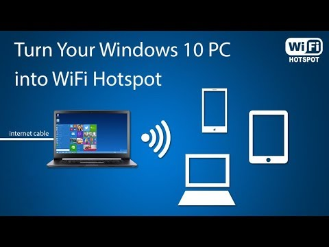 Turn Your Windows 10 Laptop into WiFi HotSpot