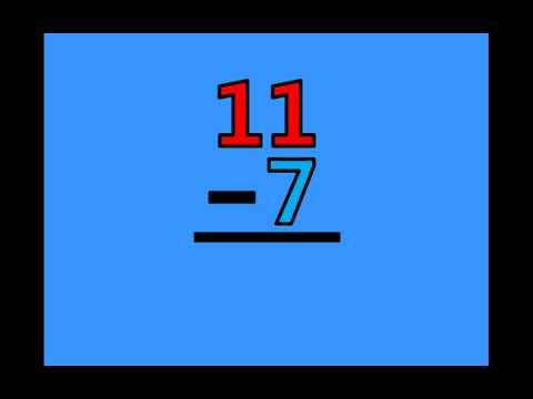 Math Subtraction Facts - Subtracting by 7's