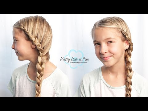 How to do a Side French Lace Braid | Beginner Braids | Pretty Hair is Fun