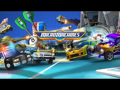 Micro Machines (by Chillingo Ltd) - iOS/Android - HD Gameplay Trailer