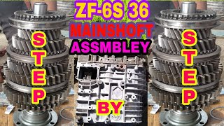 How To ZF 9S 1110 Gear Box Opan Part-1 From Ashok Leyland