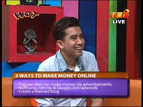 3 Ways to Make Money Online with Irfan Khairi - Internet Business Tips