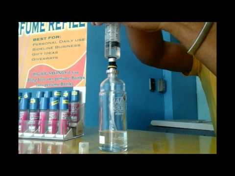 Refill any perfume bottle and make it your business