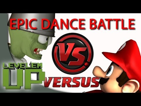 Epic movie and game characters dance battle [1080p]