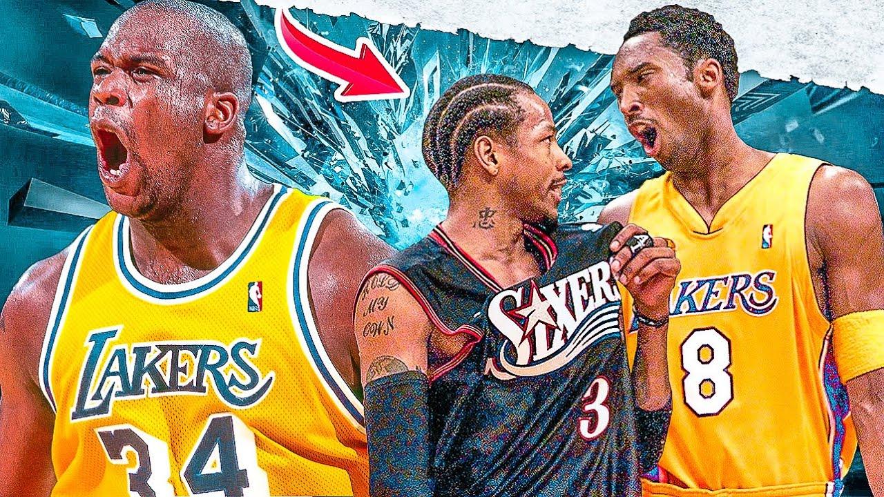 """NBA - """"Old School"""" Heated Moments"""