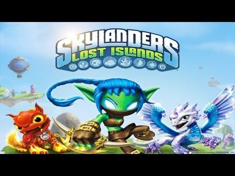 Skylanders Lost Islands - Universal - HD Gameplay Trailer