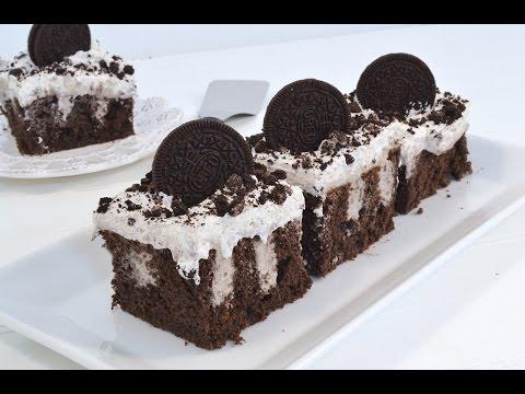 Cookies & Cream Pudding Poke Cake | RadaCutlery.com