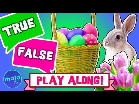 PLAY GAME - EASTER - TRUE or FALSE (INTERACTIVE!)
