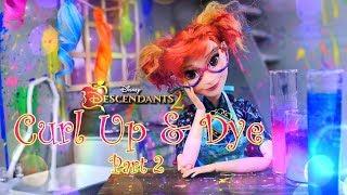 DIY - How to Make: Disney Descendants 2 | Curl Up & Dye Salon | Part 2