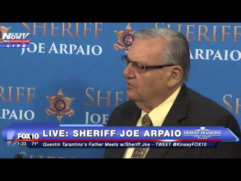 FNN: Quentin Tarantino's Father Meets with Sheriff Joe Arpaio FULL