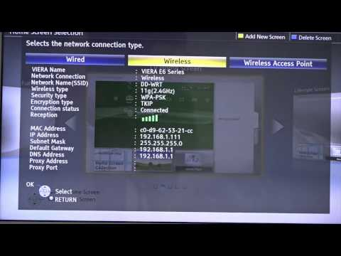 How to Configure a Panasonic TV With Unlocator