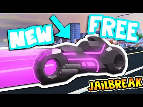 Roblox JAILBREAK How to get the New VOLT BIKE for FREE! (EASTEREGG)
