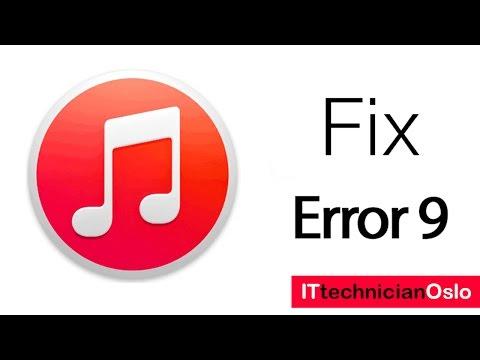 Apple iPhone Error 9 Possible solutions - iTunes Restore & Update error