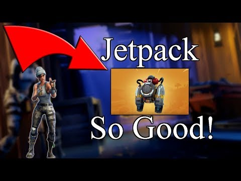 *NEW* Jetpack is INSANE! | Overpowered? | Fortnite