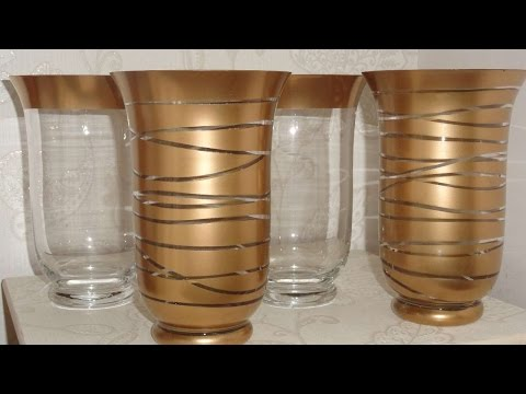 How To Create Beautiful Glassware With Spray Paint - DIY Home Tutorial - Guidecentral