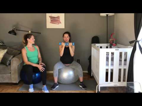 Exercises at 39 weeks pregnant