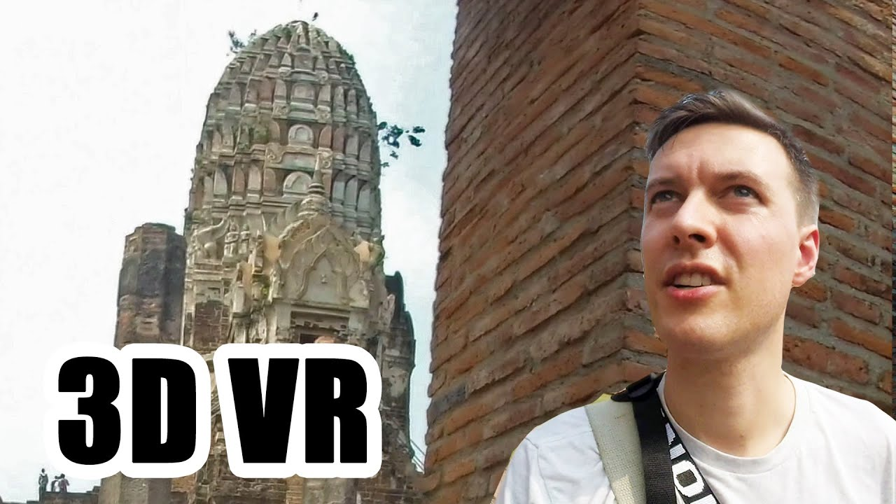 Jaw-dropping Thailand in 3D VR180! Ancient temples, markets and more - Justin's Journey's #04