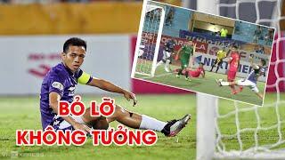 KHÔNG TƯỞNG! Văn Quyết sút 2m không vào khung thành trống | Hà Nội FC - Sài Gòn FC | NEXT SPORTS