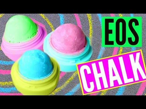 DIY EOS CHALK! Make Sidewalk Chalk!