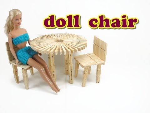 Doll Furniture Tutorial - Chair