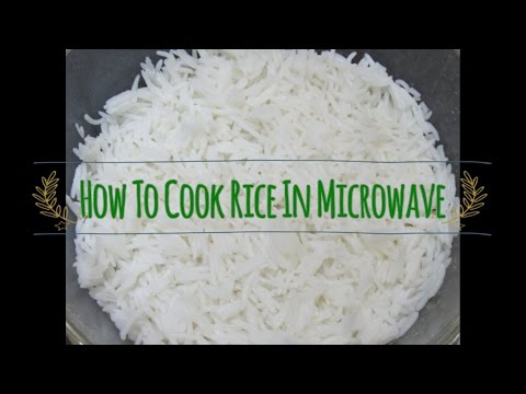 How To Cook Rice In Microwave | Step By Step Guide For Beginners
