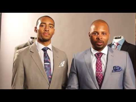How To Tie A Double Windsor Knot Brandon Michael Collection