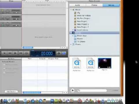 How To Export Movies From iMovie Into iDVD
