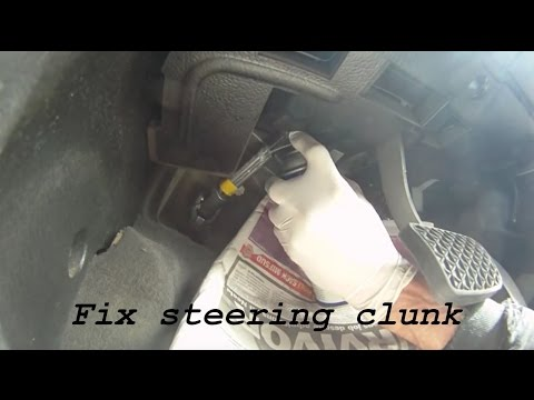 How to fix Holden / Opel Vectra Steering Clunk in minutes.