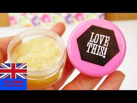 DIY Lipbalm with Honey & coconut oil | natural lipbalm to make yourself | Spring & Summer