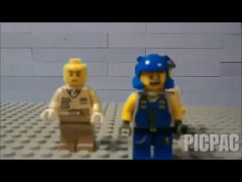 Lego Iron Mech