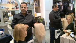 #x202b;אופק אהרוני במבט מקרוב על תהליך הוספה ועיבוי שיער#x202c;lrm;