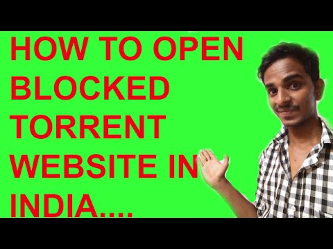 How To Open Blocked Websites In India 2016 ?#HINDI