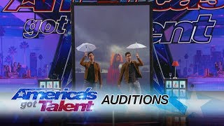 tony and jordan identical twins dazzle with magic americas got talent 2017
