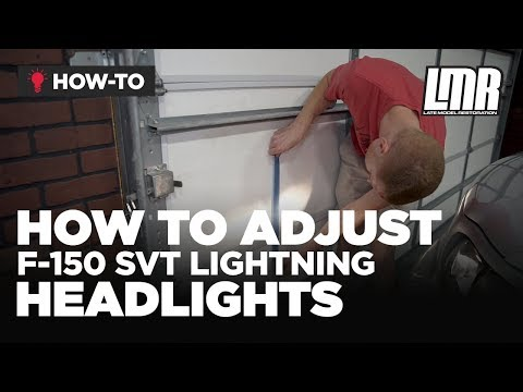 How To Adjust/Aim Ford F-150 Headlights (1997-2004)