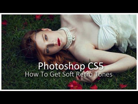 [Photoshop CS5] How To Get Soft Retro Tones