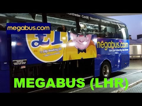 £2.50 return to Bath on new Megabus route from Heathrow to Bath review