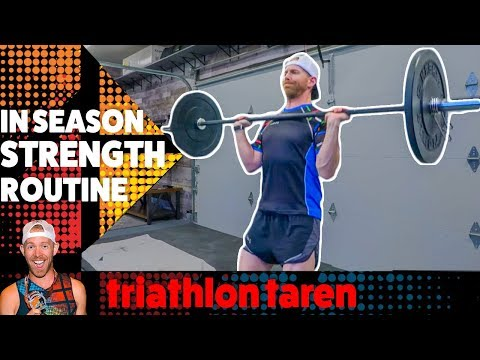 How You Should STRENGTH TRAIN for Triathlon During Race Season And NOT GET SLOWER