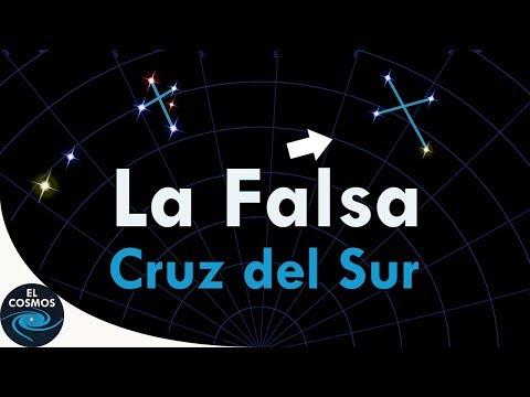 La Constelación Cruz del Sur o Crux - El Cosmos