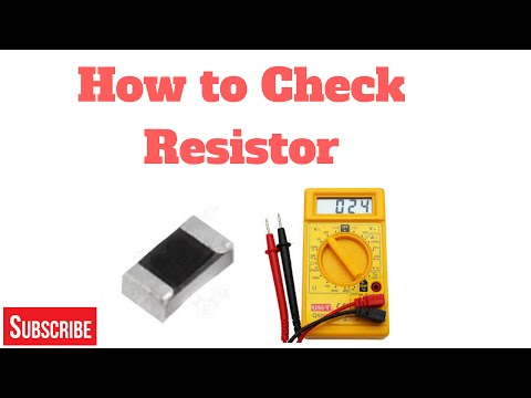 How to Check Resistor Component for Mobile Phone (Part 2)