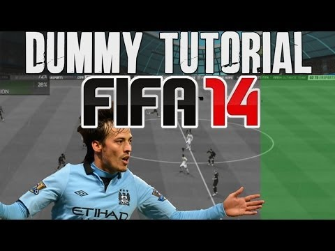 FIFA 14 Tutorials & Tips | How to Dummy + Easy ways to  Beat Pressure (Skills)  | Best FIFA Guide