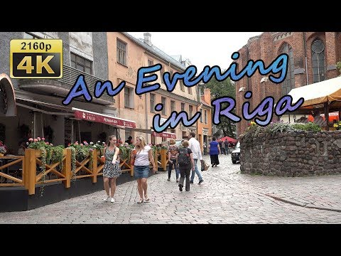 An Evening in Riga and Hotel Wellton - Latvia 4K Travel Channel